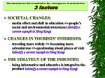 circumstances that resulted in the emergence of ecotourism 3 factors