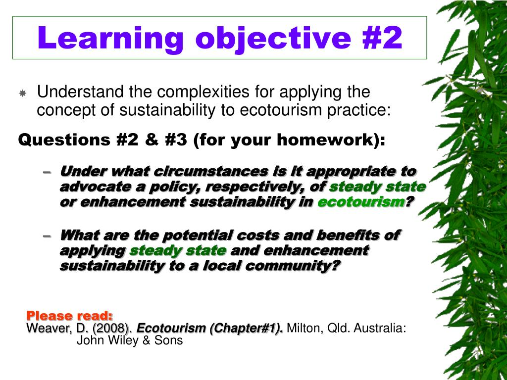 Learning objective #2