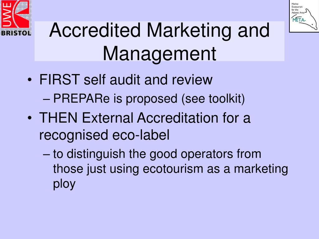 Accredited Marketing and Management
