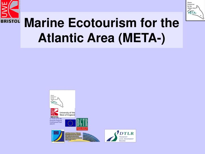 Marine ecotourism for the atlantic area meta