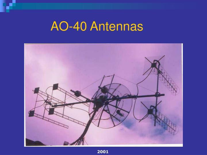 AO-40 Antennas
