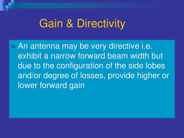 Gain & Directivity