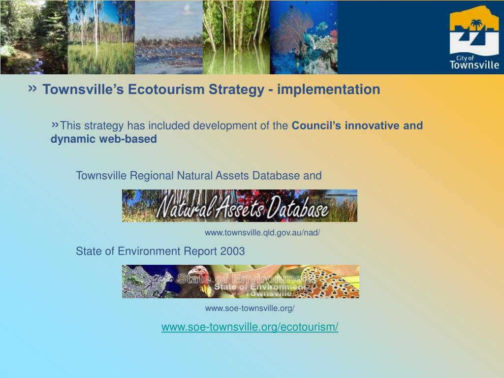 Townsville's Ecotourism Strategy - implementation