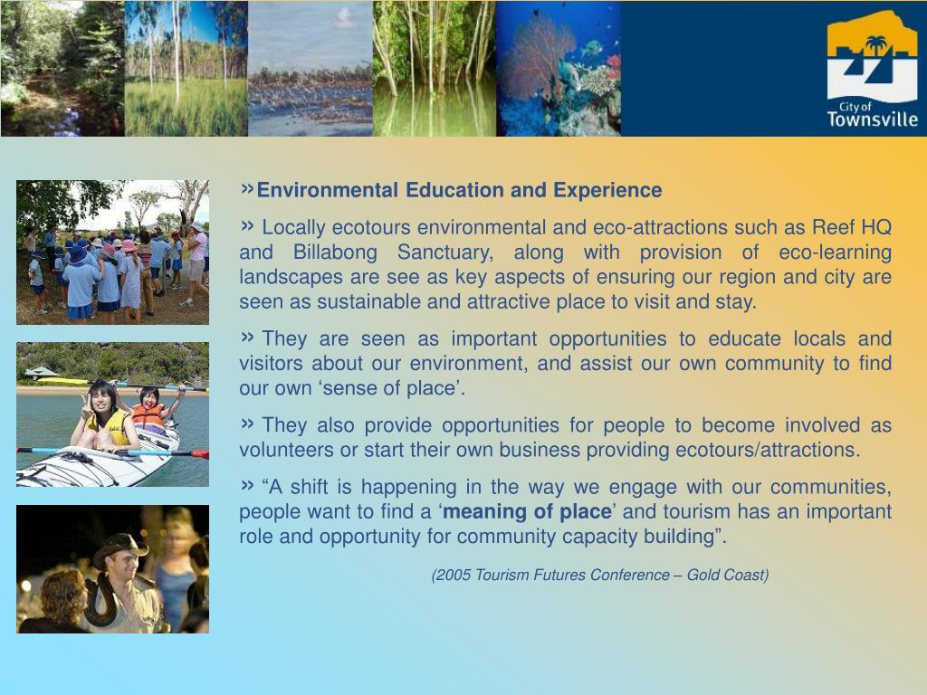 Environmental Education and Experience