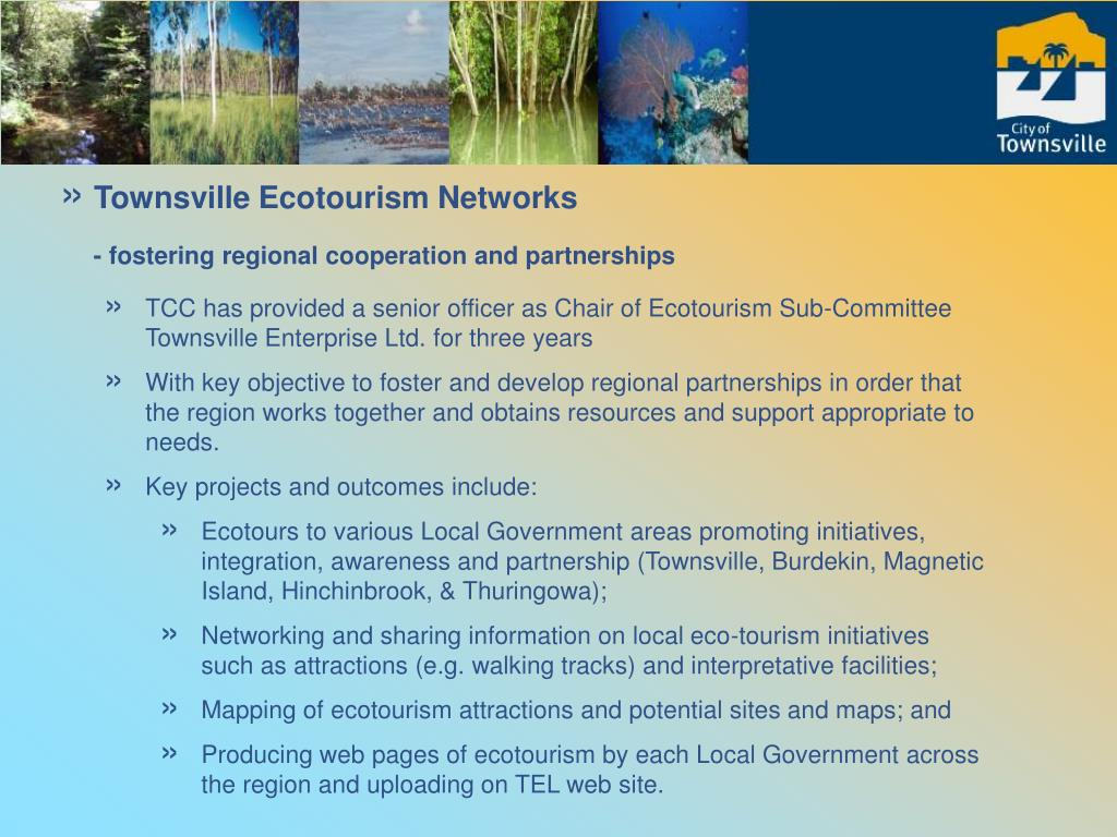 Townsville Ecotourism Networks