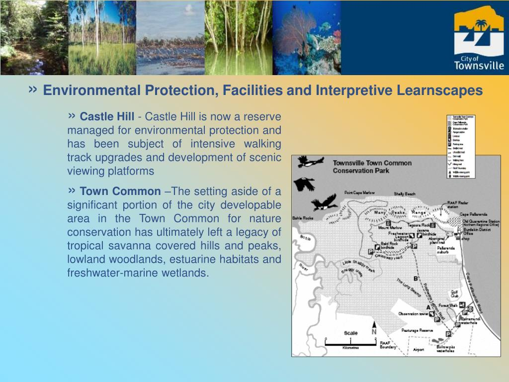Environmental Protection, Facilities and Interpretive Learnscapes