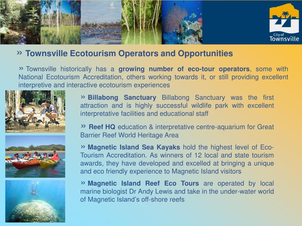 Townsville Ecotourism Operators and Opportunities