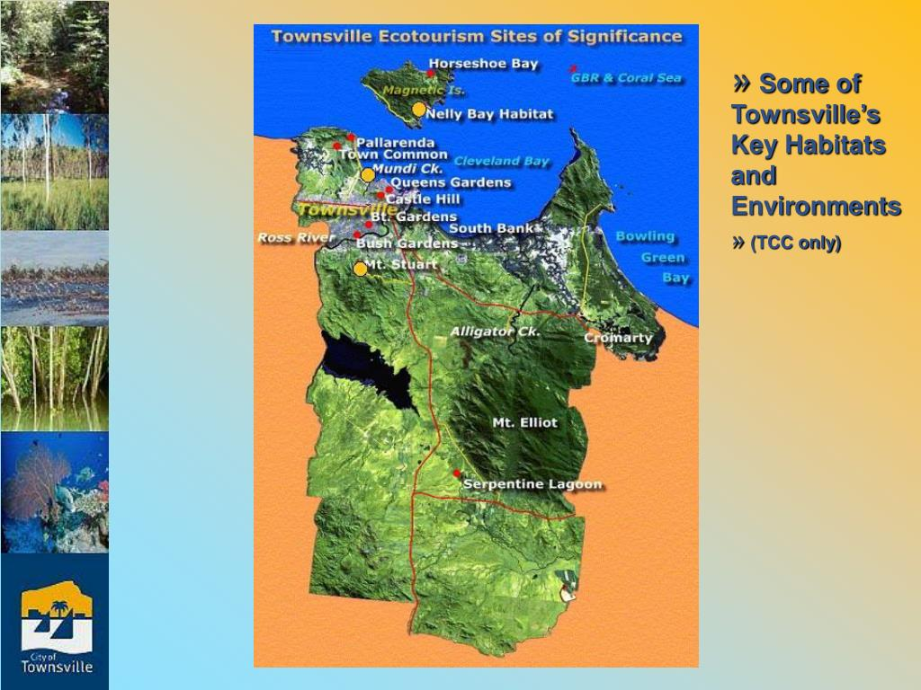 Some of Townsville's Key Habitats and Environments