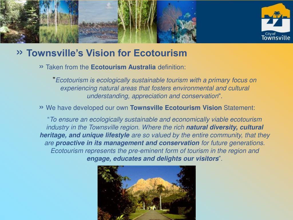 Townsville's Vision for Ecotourism