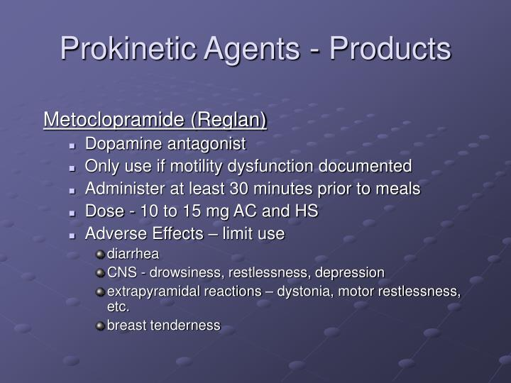 Prokinetic Agents - Products