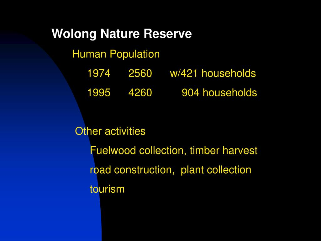Wolong Nature Reserve