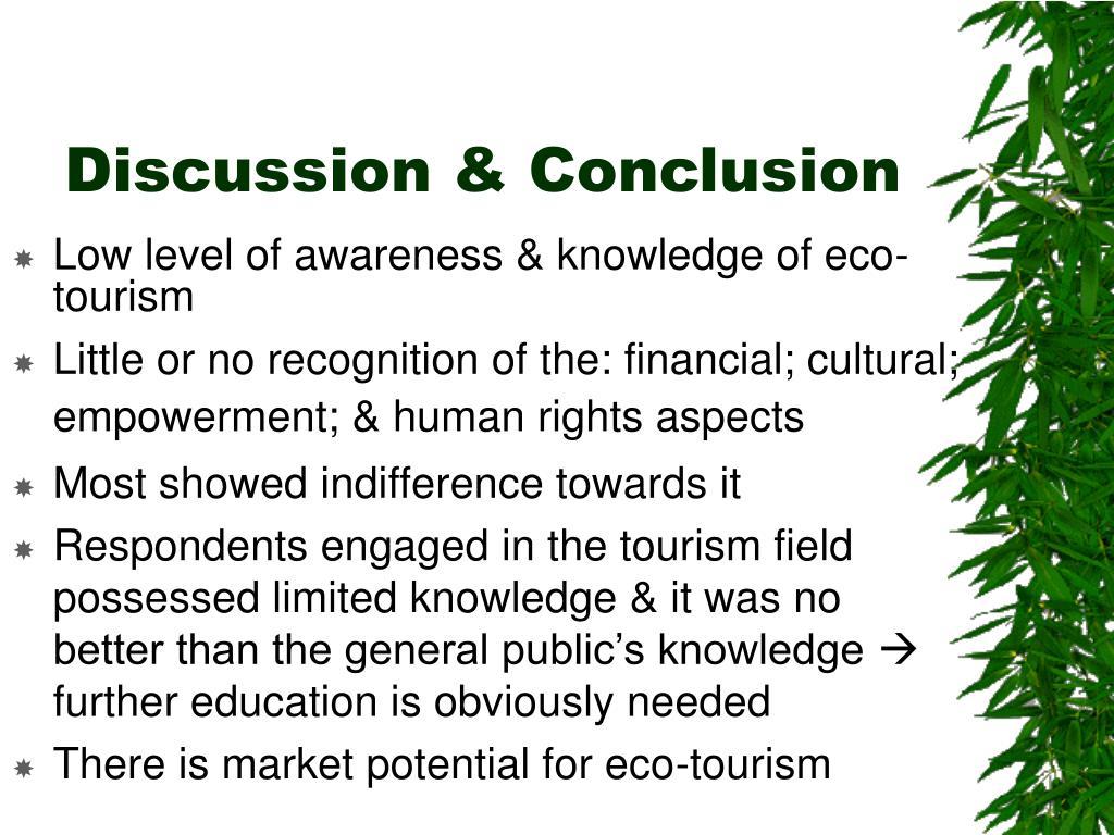 Discussion & Conclusion