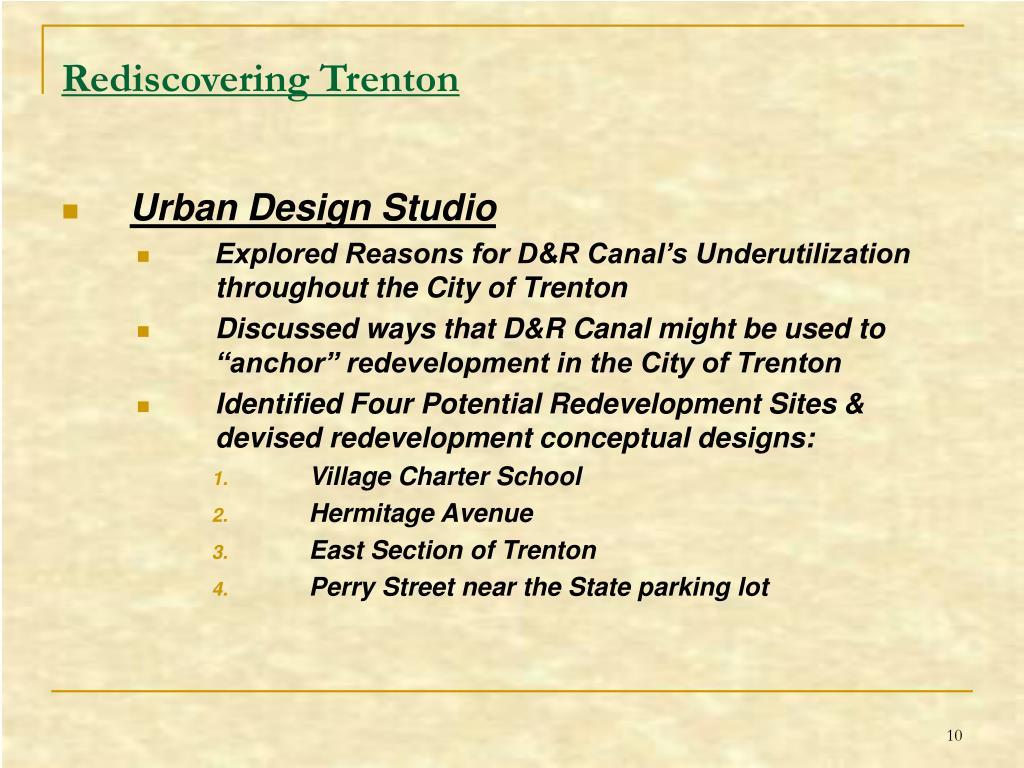 Rediscovering Trenton
