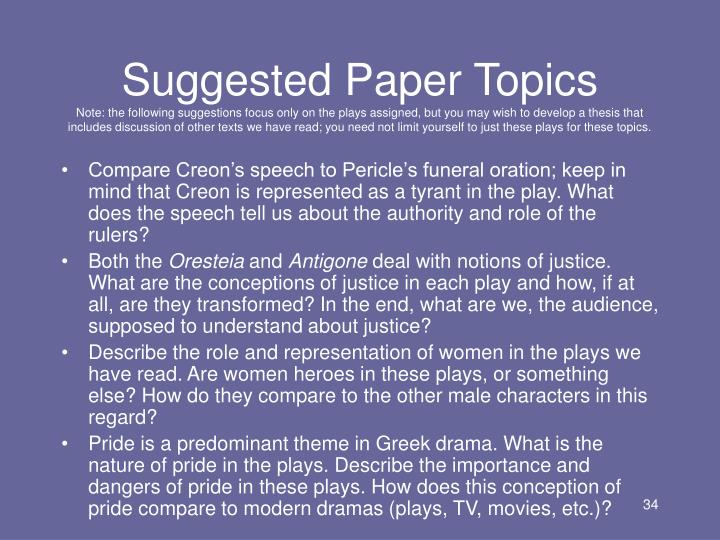 Sophocles World Literature Analysis - Essay