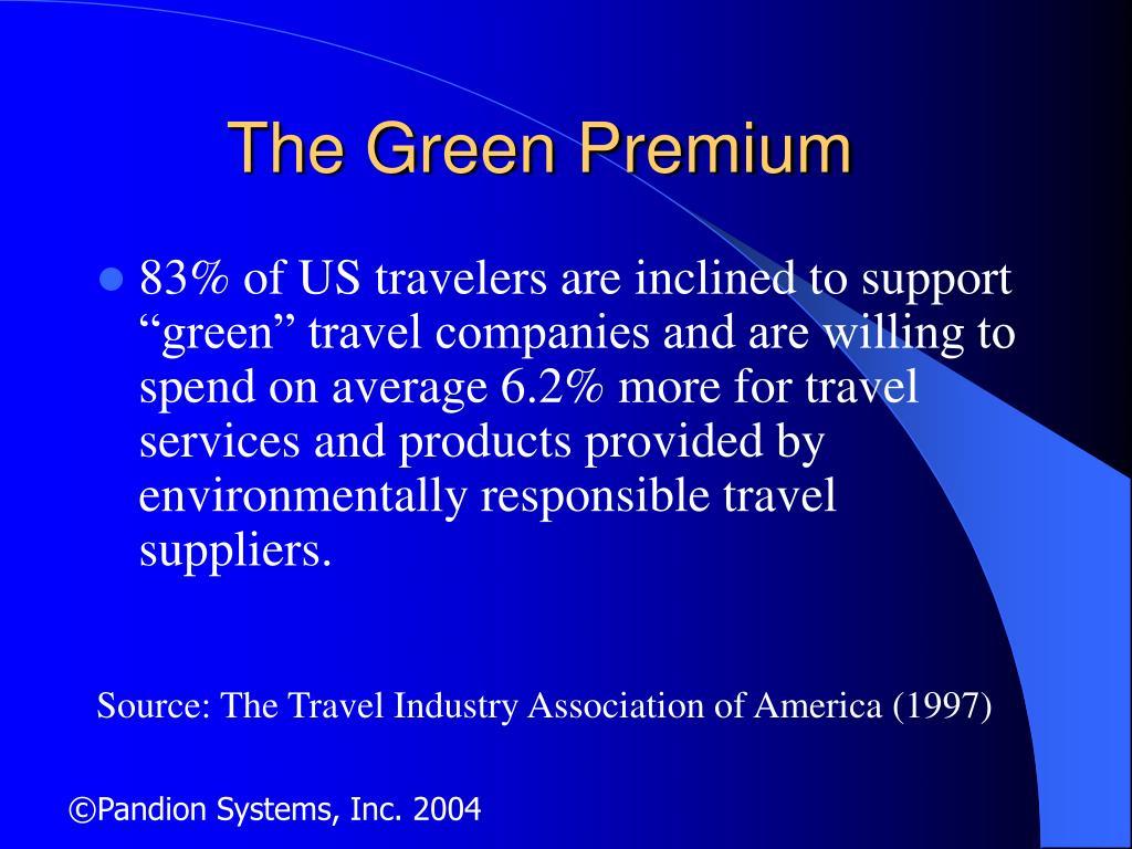 The Green Premium
