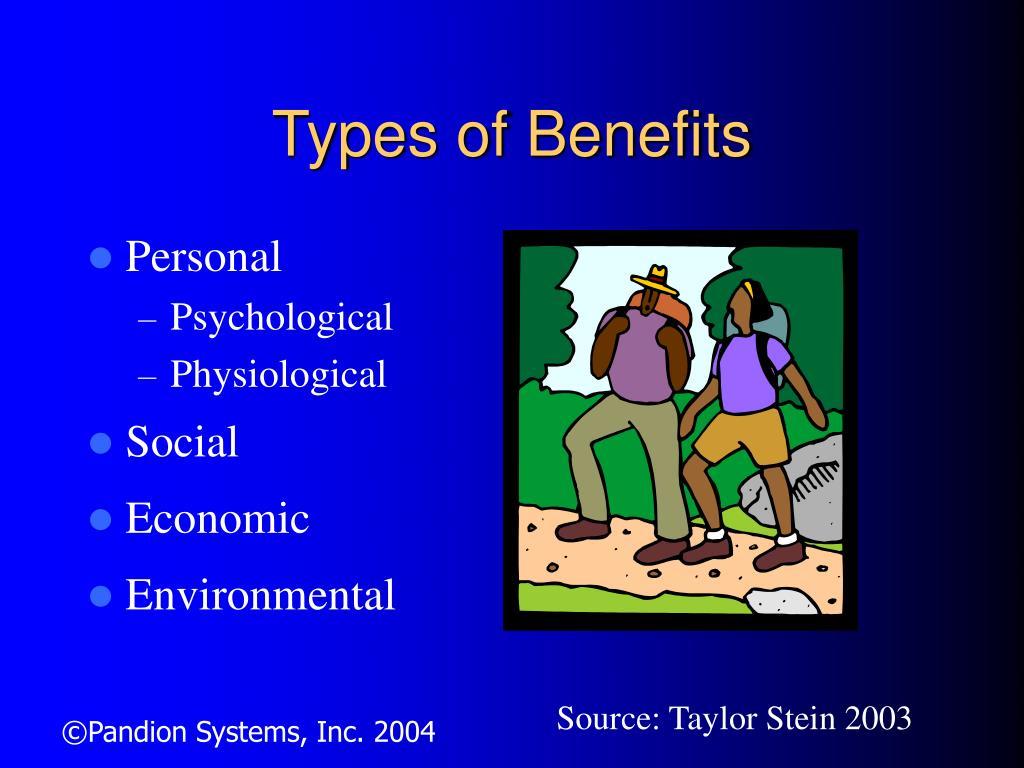 Types of Benefits