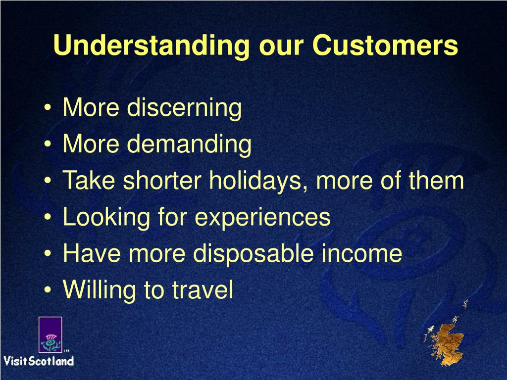 Understanding our Customers