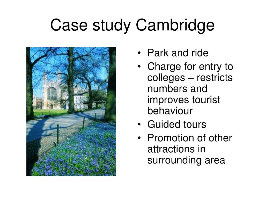 Case study Cambridge