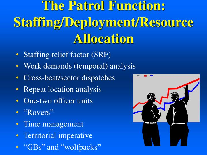 The Patrol Function:  Staffing/Deployment/Resource Allocation
