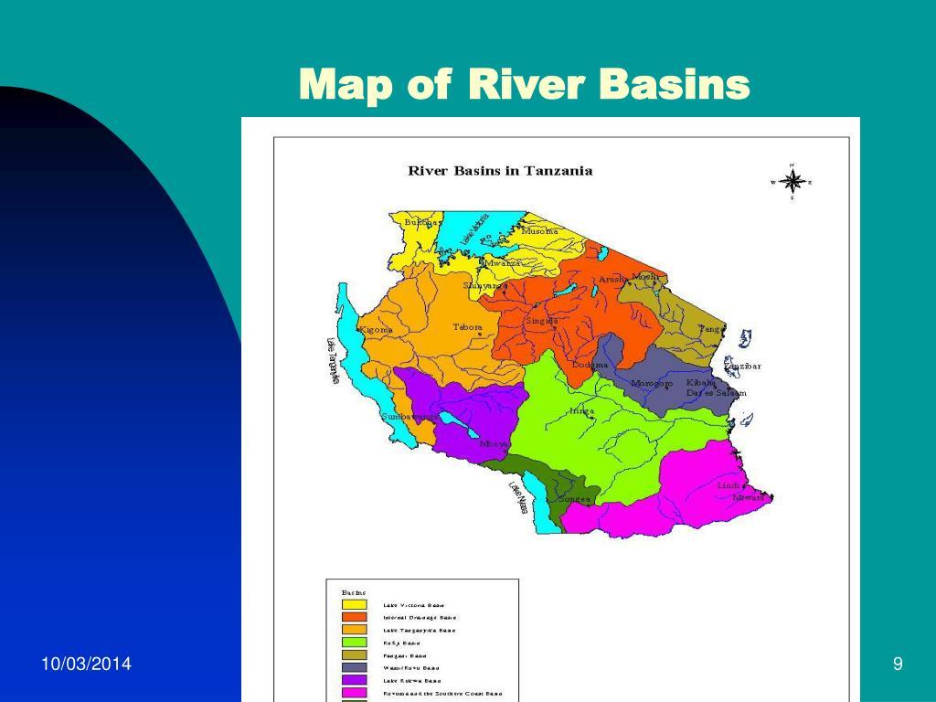 Map of River Basins