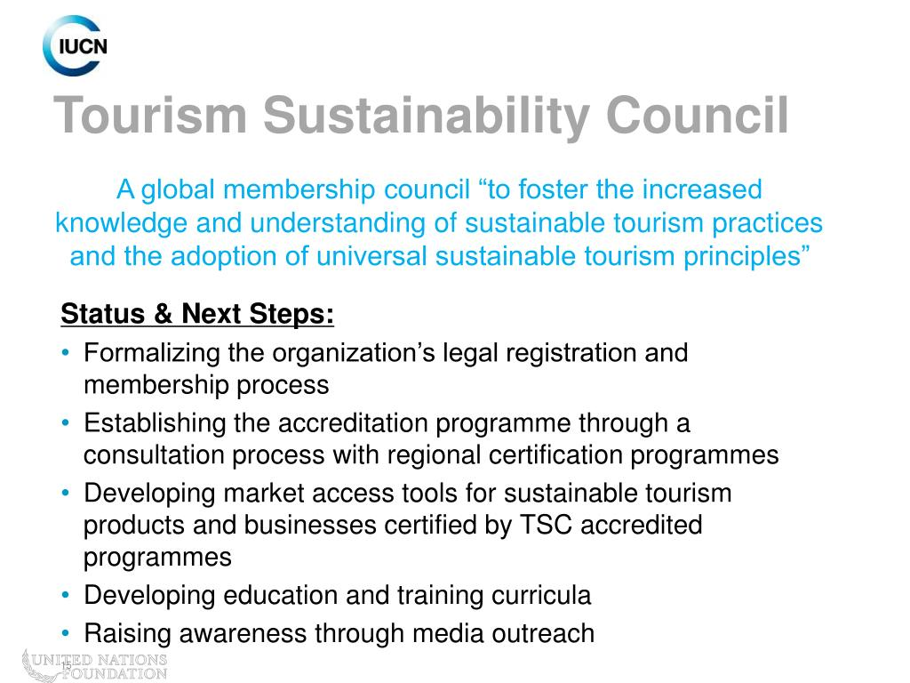 Tourism Sustainability Council