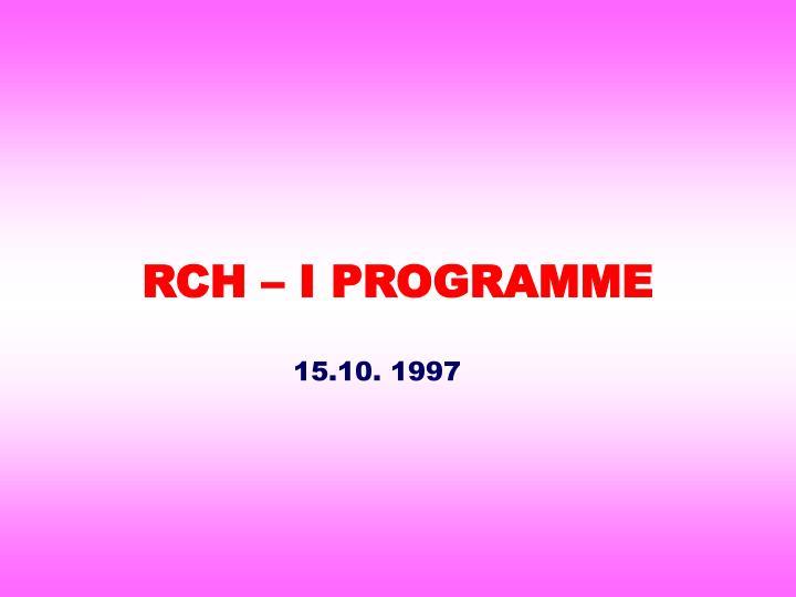 RCH –