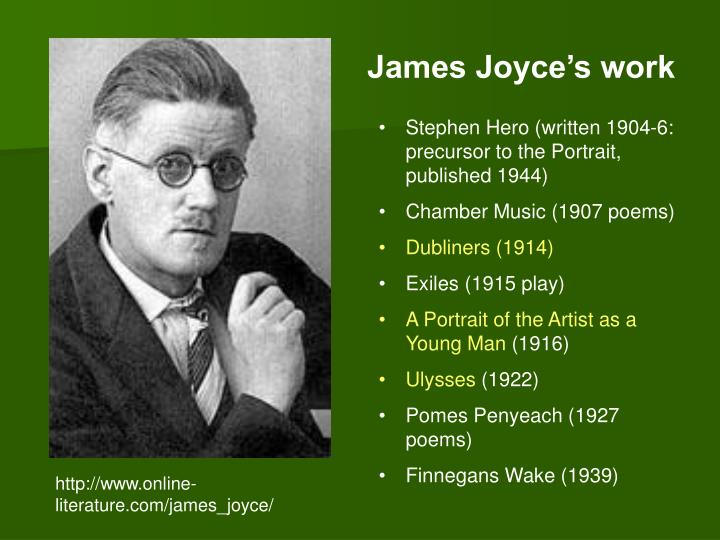 a description of james joyce dubliners in the encounter The depiction of childhood in 'dubliners' is a bleak one james joyce described 'dubliners' as a 'nicely the old man they encounter clearly has sexually.