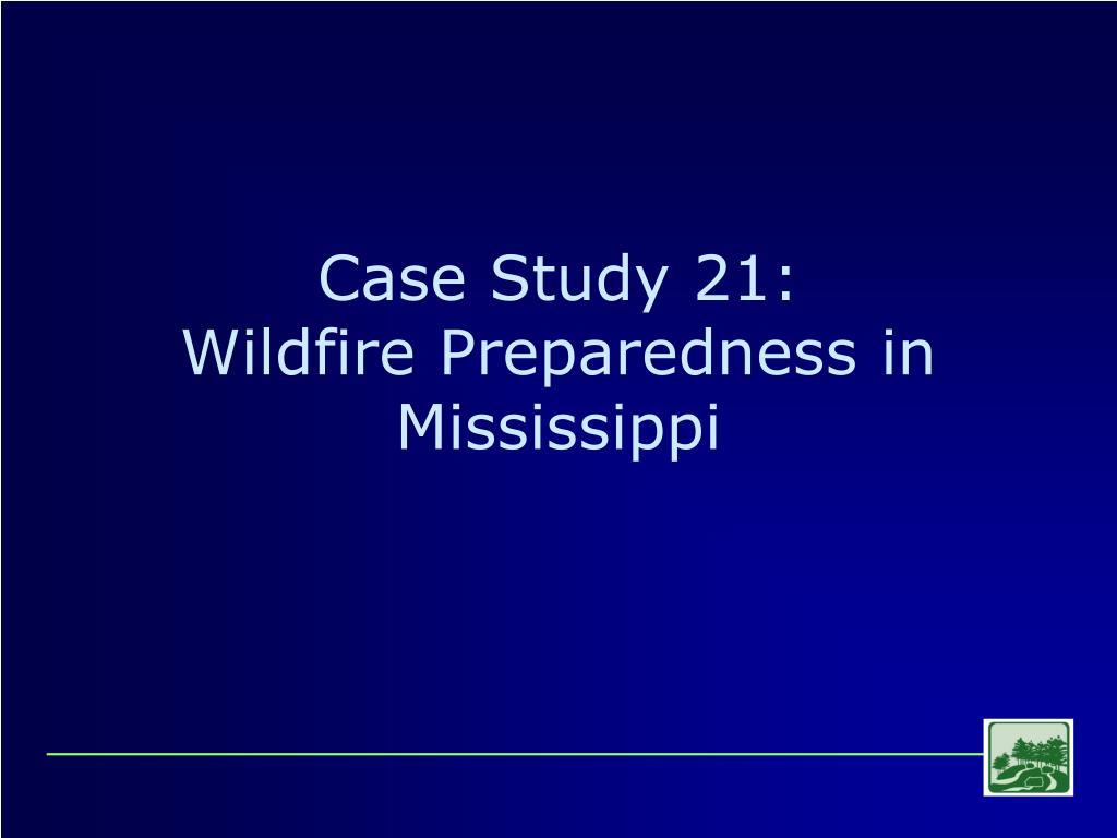 Case Study 21: