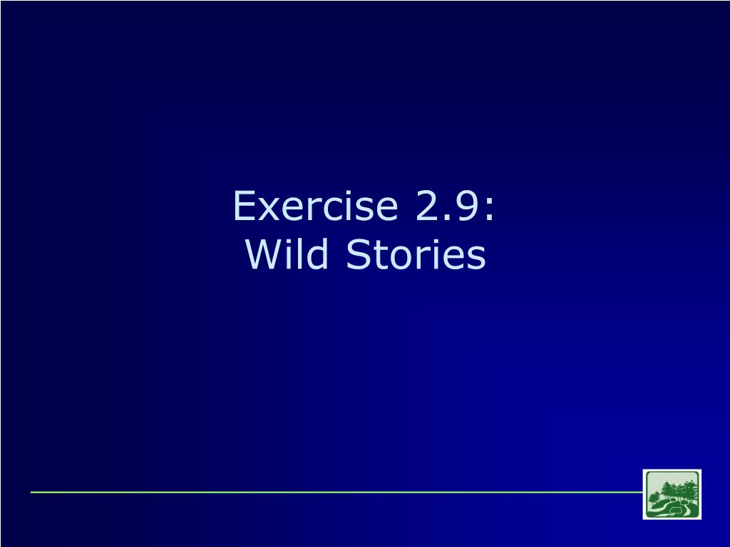 Exercise 2.9:
