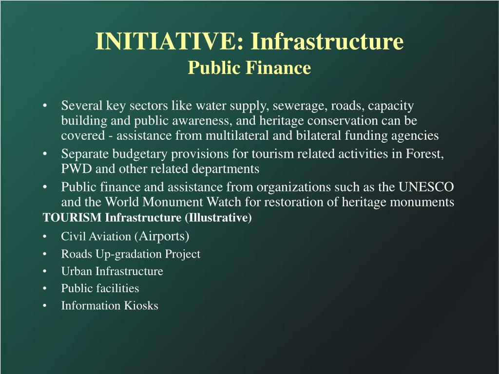 INITIATIVE: Infrastructure