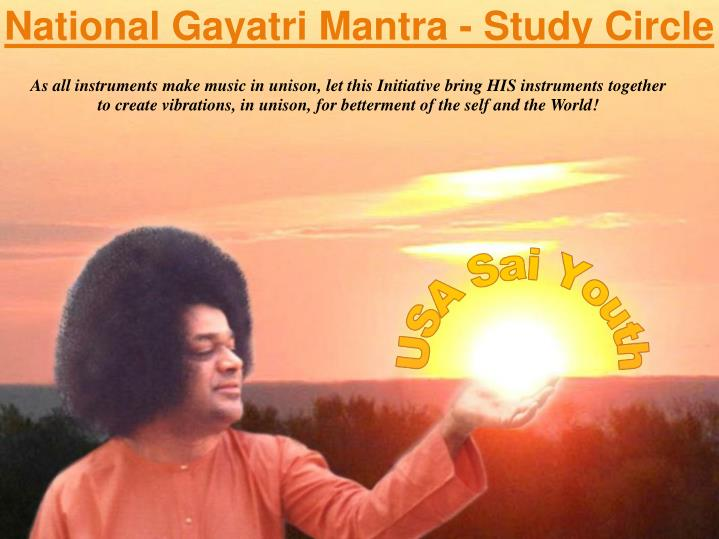 National gayatri mantra study circle