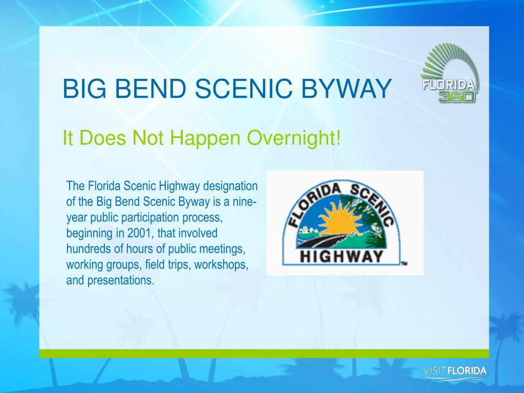BIG BEND SCENIC BYWAY