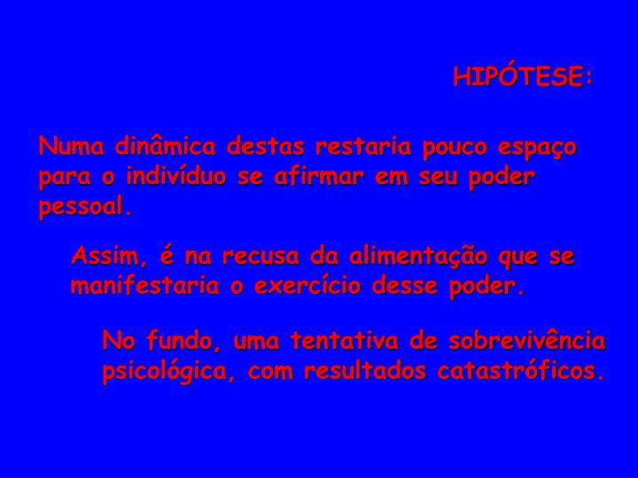 HIPÓTESE: