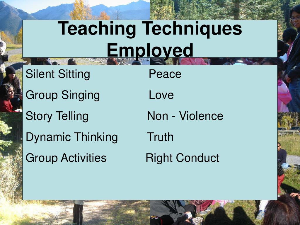 Teaching Techniques Employed