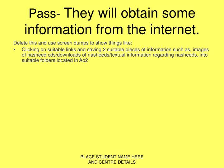Pass-