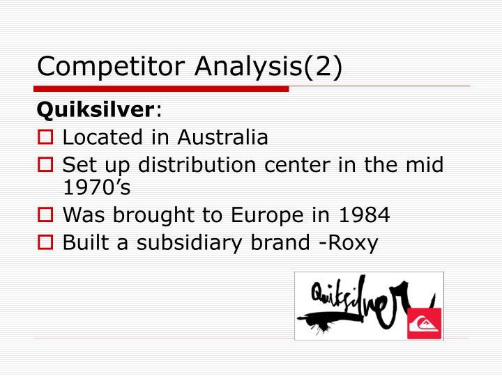 Competitor Analysis(2)
