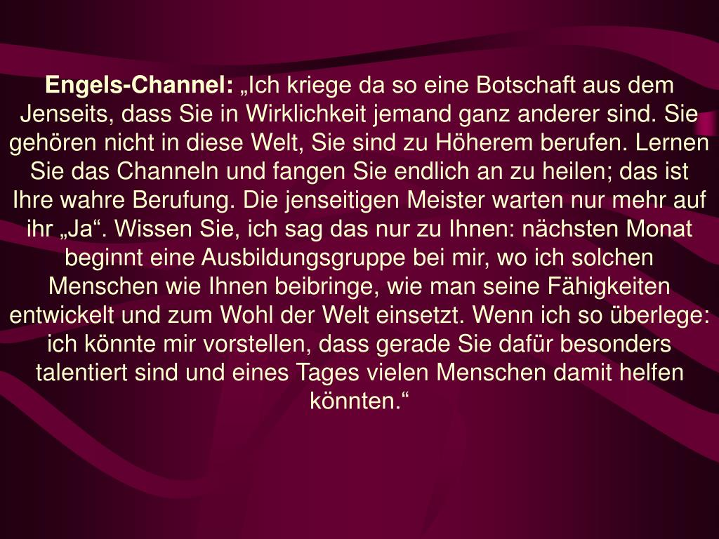 Engels-Channel: