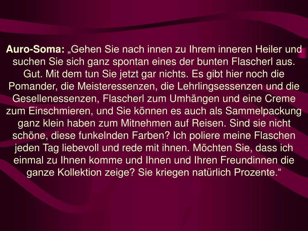 Auro-Soma: