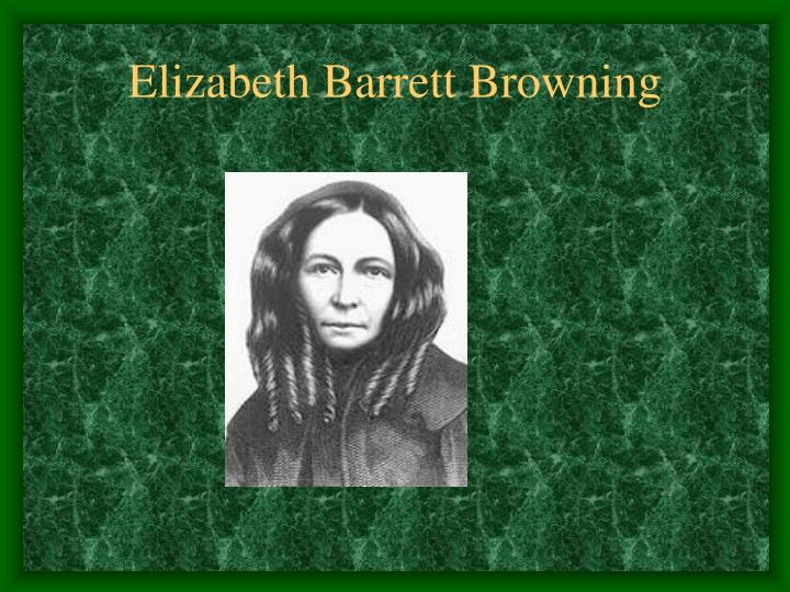 elizabeth browning how do i love thee essay It's the penultimate sonnet in a sequence of 44, sonnets from the portuguese, the one that begins, how do i love thee the sonnets are not, of course, real translations.