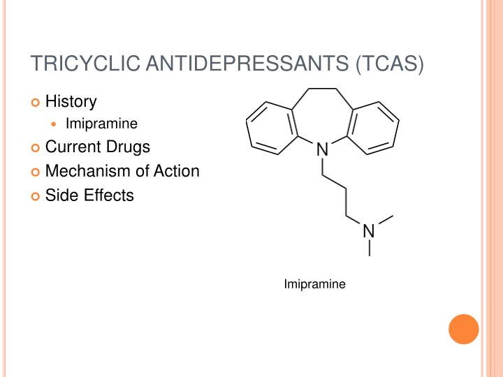 Tricyclic Antidepressants Side Effects