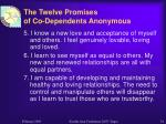 the twelve promises of co dependents anonymous1