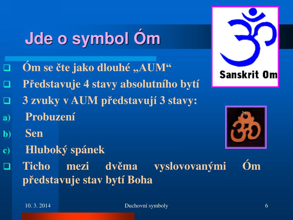 Jde o symbol Óm