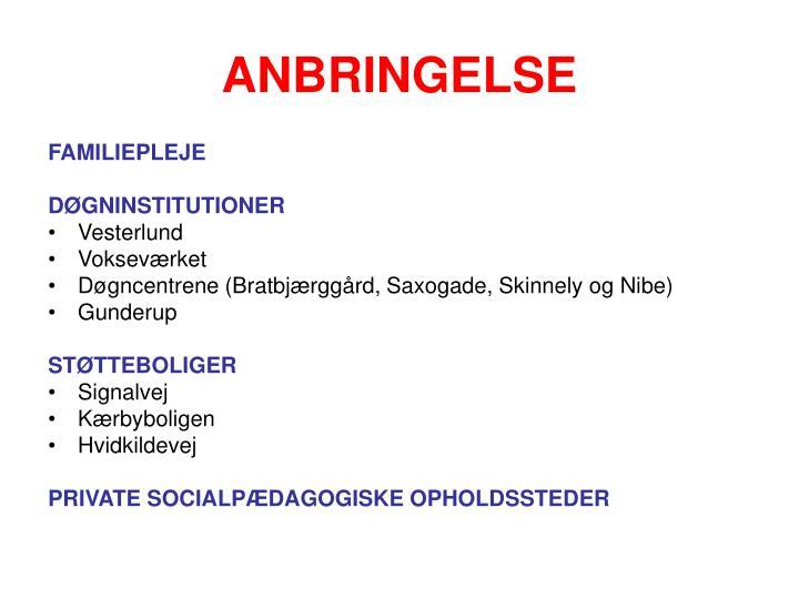 ANBRINGELSE