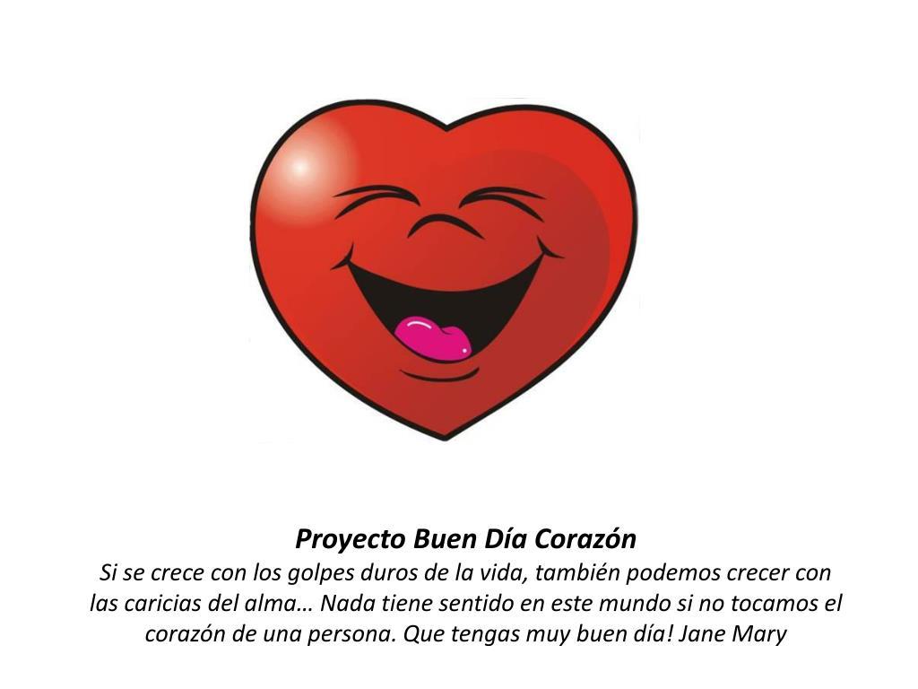 Proyecto Buen Día Corazón
