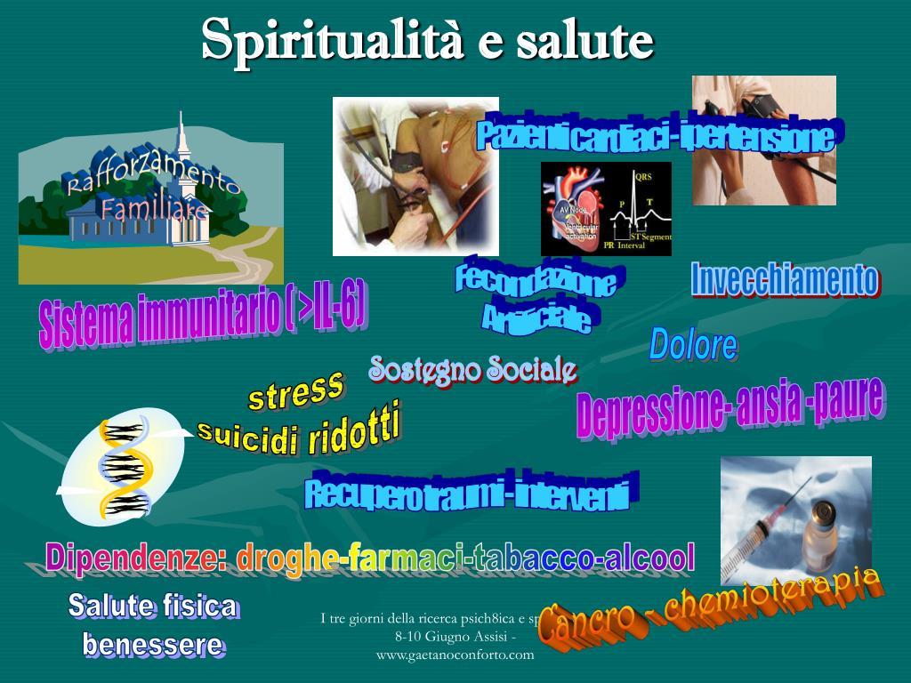Spiritualità e salute