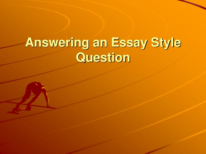 answering essay questions csu
