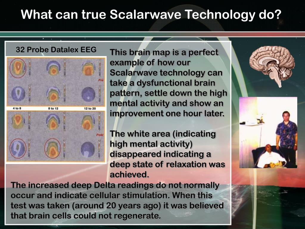 What can true Scalarwave Technology do?