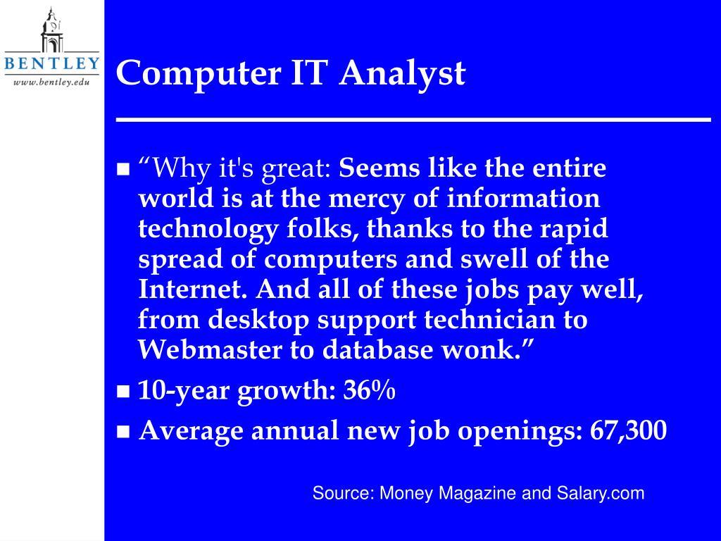 Computer IT Analyst