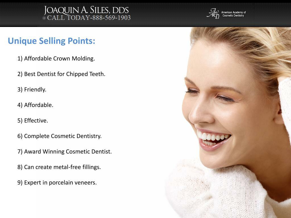 Unique Selling Points: