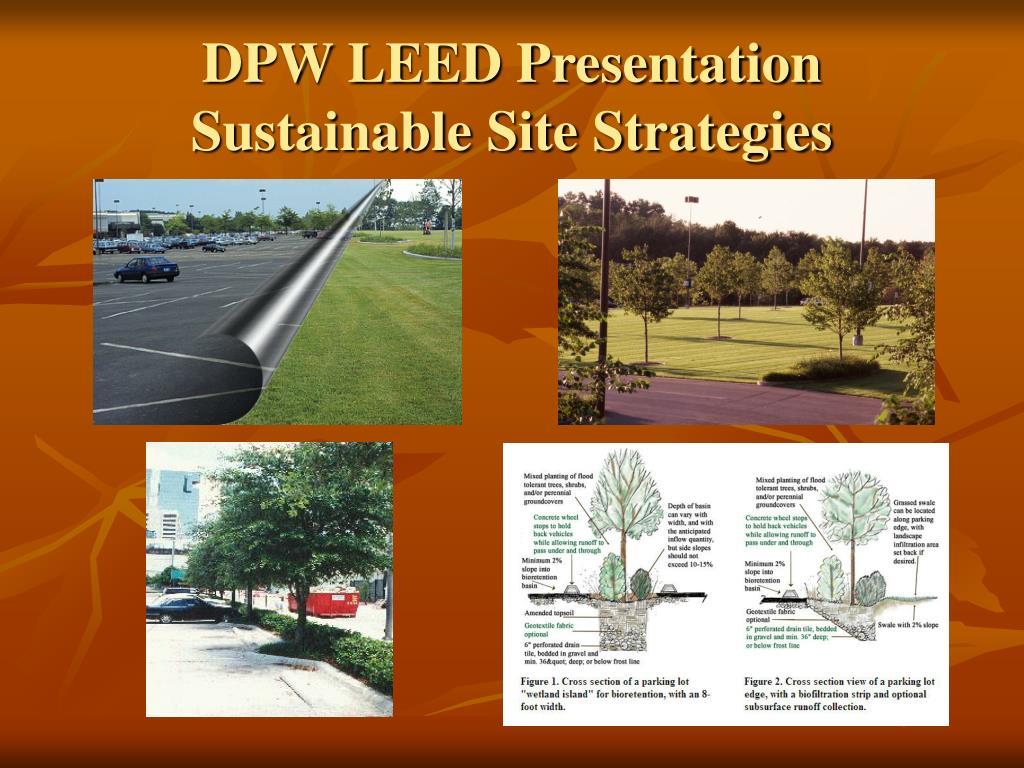 DPW LEED Presentation